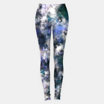 Thumbnail image of The silent blue decay Leggings, Live Heroes