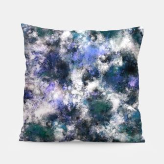 Thumbnail image of The silent blue decay Pillow, Live Heroes