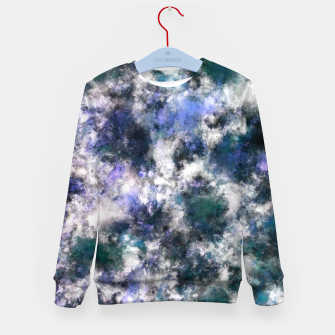 Thumbnail image of The silent blue decay Kid's sweater, Live Heroes