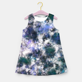 Thumbnail image of The silent blue decay Girl's summer dress, Live Heroes