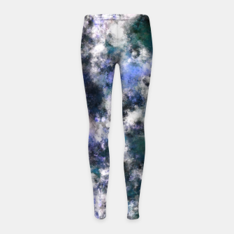 Thumbnail image of The silent blue decay Girl's leggings, Live Heroes