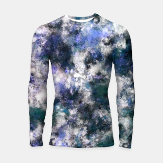 Thumbnail image of The silent blue decay Longsleeve rashguard , Live Heroes