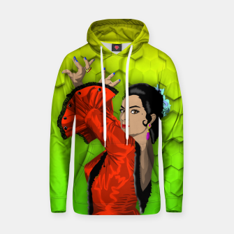 Miniatur LOLA FLORES two Sudadera con capucha, Live Heroes