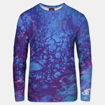 Thumbnail image of Smaller Reality - Teal, Pink, Purple Abstract Unisex sweater, Live Heroes