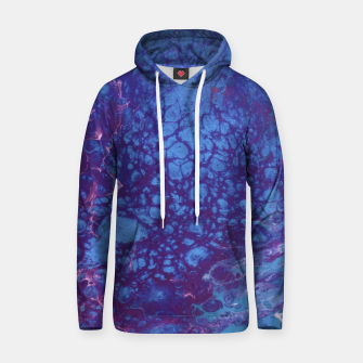 Thumbnail image of Smaller Reality - Teal, Pink, Purple Abstract Hoodie, Live Heroes