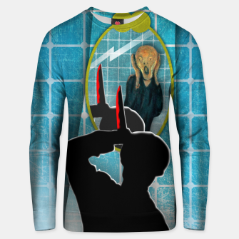 PSICOSIS with THE SCREAM Sudadera unisex imagen en miniatura