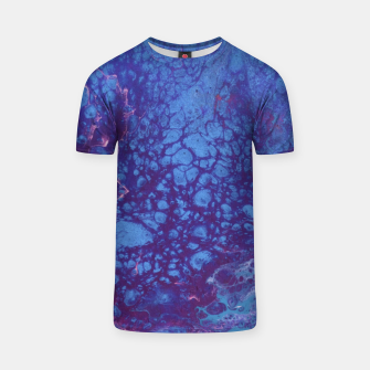 Thumbnail image of Smaller Reality - Teal, Pink, Purple Abstract T-shirt, Live Heroes