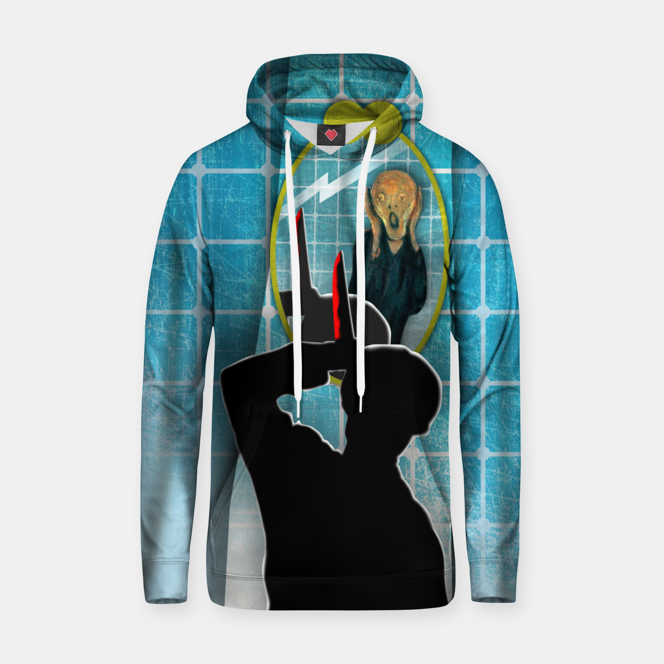 Imagen de PSICOSIS with THE SCREAM Sudadera con capucha - Live Heroes