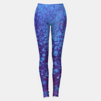 Thumbnail image of Smaller Reality - Teal, Pink, Purple Abstract Leggings, Live Heroes