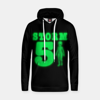Storm Area 51 Bright Green Alien  Hoodie thumbnail image