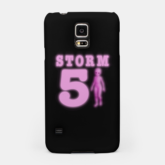 Storm Area 51 Bright Hot Pink Alien Samsung Case thumbnail image