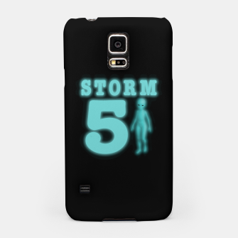 Thumbnail image of Storm Area 51 Bright Aqua Blue Alien Samsung Case, Live Heroes