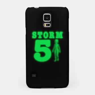 Thumbnail image of Storm Area 51 Bright Green Alien  Samsung Case, Live Heroes