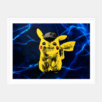 Thumbnail image of Pikachu Framed poster, Live Heroes