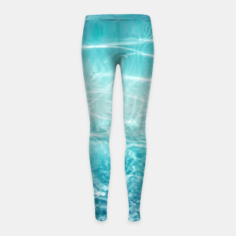 Imagen en miniatura de Blue Ocean Dream #1 #water #decor #art  Kinder-Leggins, Live Heroes