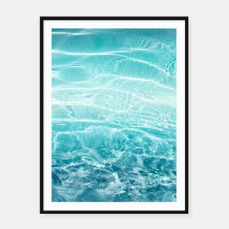 Imagen en miniatura de Blue Ocean Dream #1 #water #decor #art  Plakat mit rahmen, Live Heroes