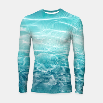 Thumbnail image of Blue Ocean Dream #1 #water #decor #art  Longsleeve rashguard, Live Heroes