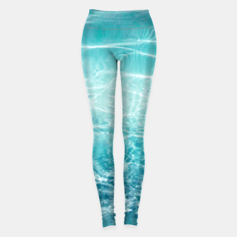 Thumbnail image of Blue Ocean Dream #1 #water #decor #art  Leggings, Live Heroes