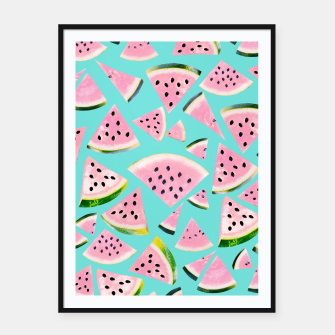 Imagen en miniatura de Watermelon Twist Vibes #2 #tropical #fruit #decor #art  Plakat mit rahmen, Live Heroes