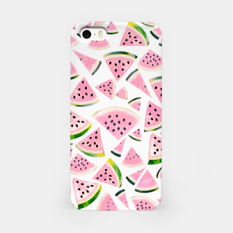 Thumbnail image of Watermelon Twist Vibes #3 #tropical #fruit #decor #art iPhone-Hülle, Live Heroes