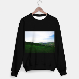 Thumbnail image of landscape near labin croatia std Sweater regular, Live Heroes