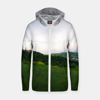 Thumbnail image of landscape near labin croatia toy Zip up hoodie, Live Heroes
