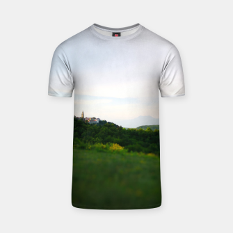 Thumbnail image of landscape near labin croatia toy T-shirt, Live Heroes
