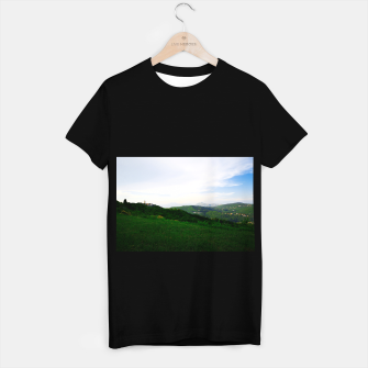 Thumbnail image of landscape near labin croatia std T-shirt regular, Live Heroes