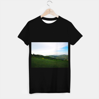 Thumbnail image of landscape near labin croatia toy T-shirt regular, Live Heroes