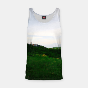 Thumbnail image of landscape near labin croatia std Tank Top, Live Heroes