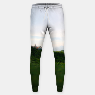 Thumbnail image of landscape near labin croatia toy Sweatpants, Live Heroes