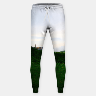Thumbnail image of landscape near labin croatia std Sweatpants, Live Heroes