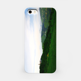 Thumbnail image of landscape near labin croatia std iPhone Case, Live Heroes