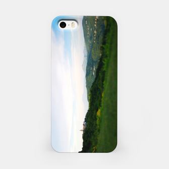 Thumbnail image of landscape near labin croatia toy iPhone Case, Live Heroes