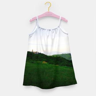 Thumbnail image of landscape near labin croatia std Girl's dress, Live Heroes