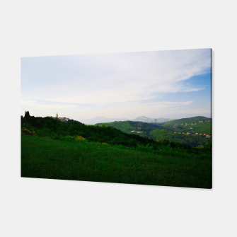 Thumbnail image of landscape near labin croatia std Canvas, Live Heroes
