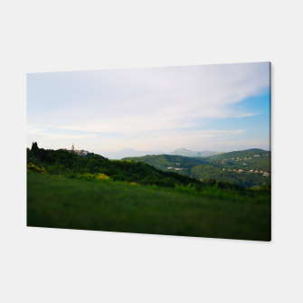 Thumbnail image of landscape near labin croatia toy Canvas, Live Heroes