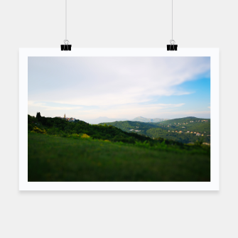 Thumbnail image of landscape near labin croatia toy Poster, Live Heroes