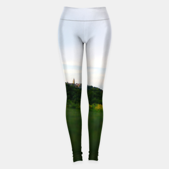 Thumbnail image of landscape near labin croatia toy Leggings, Live Heroes