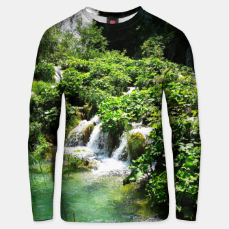 cascades at plitvice lakes national park croatia std Unisex sweater thumbnail image