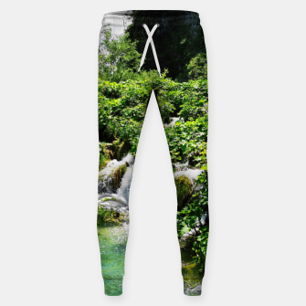 cascades at plitvice lakes national park croatia std Sweatpants thumbnail image