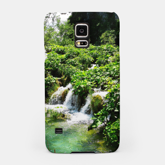 Thumbnail image of cascades at plitvice lakes national park croatia std Samsung Case, Live Heroes
