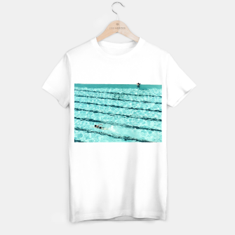 Thumbnail image of Swimmers and the pool T-shirt regular, Live Heroes