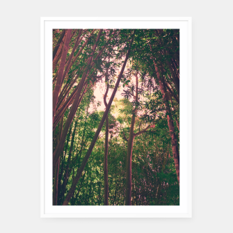 Thumbnail image of Nature and pink Framed poster, Live Heroes