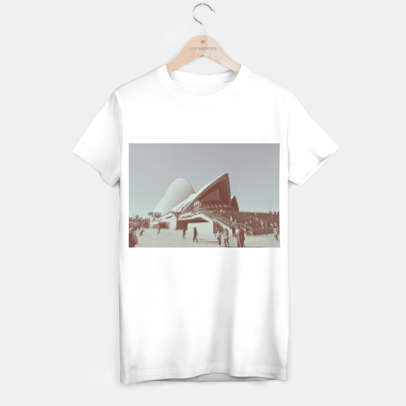 Image of Opera House and the people T-shirt regular - Live Heroes