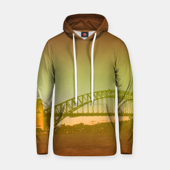 Thumbnail image of Bridge and the sunset Hoodie, Live Heroes
