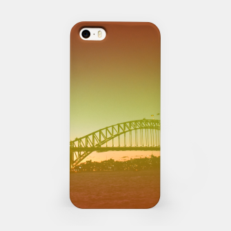 Thumbnail image of Bridge and the sunset iPhone Case, Live Heroes