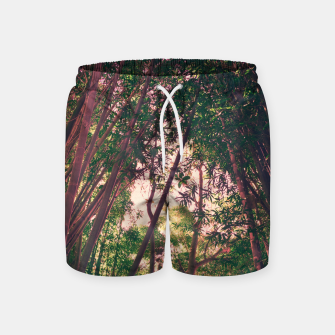 Thumbnail image of Nature and pink Swim Shorts, Live Heroes