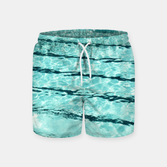 Thumbnail image of Swimmers and the pool Swim Shorts, Live Heroes