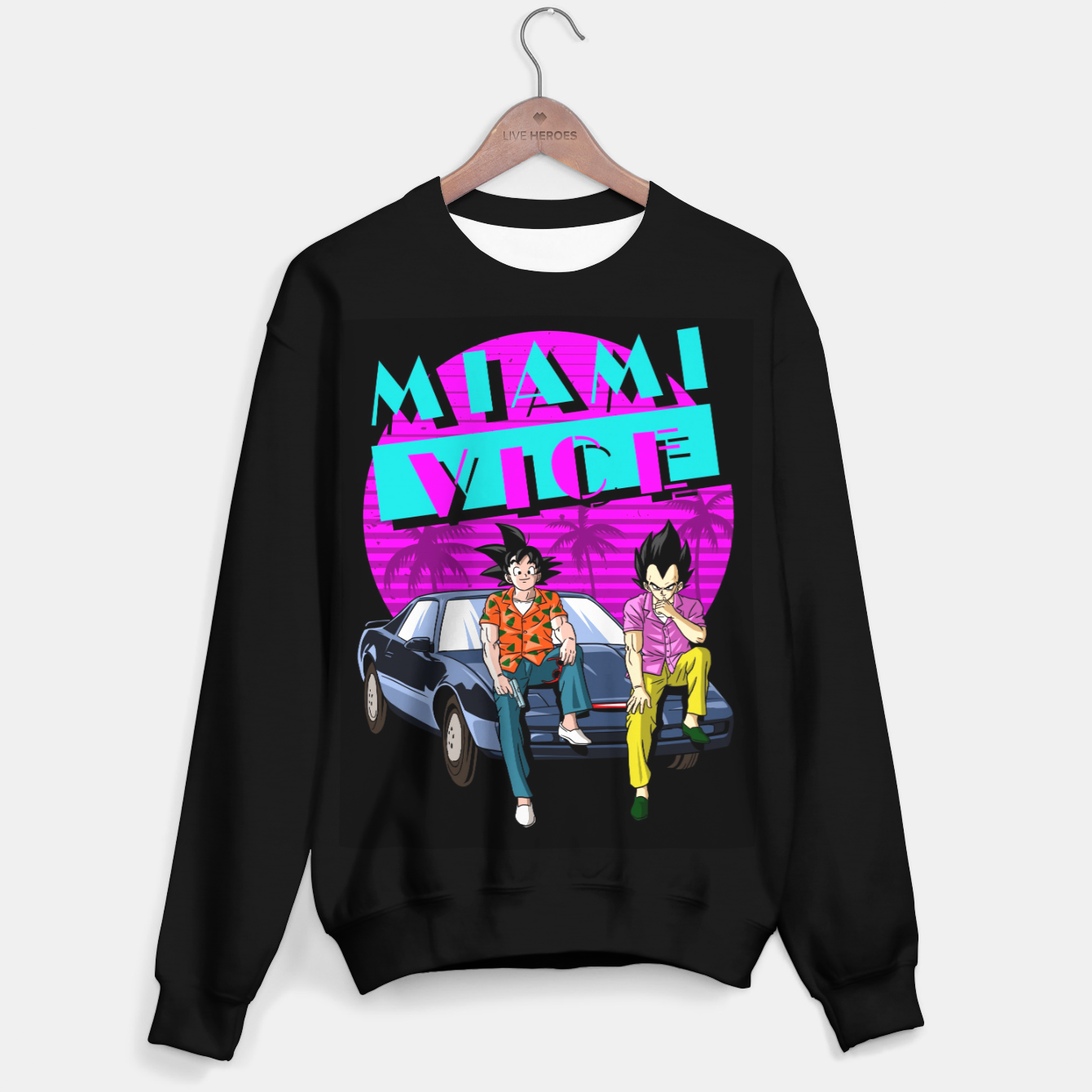 Image of Miami Vice Sudadera regular - Live Heroes